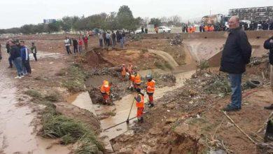انتشال الجثة العاشرة لضحايا فيضان وادي مكناسة