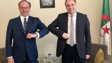 سفير ايطاليا في الجزائر يزور جيلالي