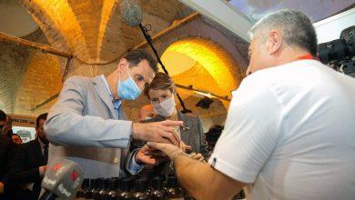 إصابة الأسد وعقيلته بفيروس كورونا