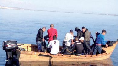 """إنقاذ 99 """"حراق"""" بينهم 18 مغربيا بالشلف"""