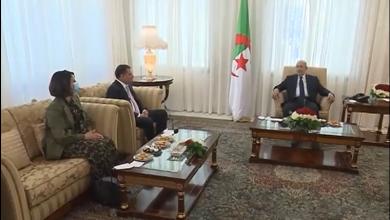 الرئيس تبون يستقبل رئيس حكومة الوحدة الوطنية الليبية عبد الحميد الدبيبة
