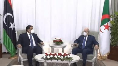 الرئيس تبون: الجزائر رهن إشارة ليبيا
