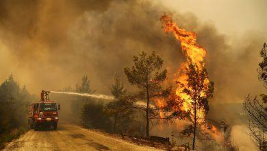 النيران تضر بالسياحة التركية