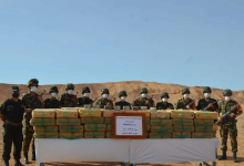 حجز كميات كبيرة من الكيف المغربي